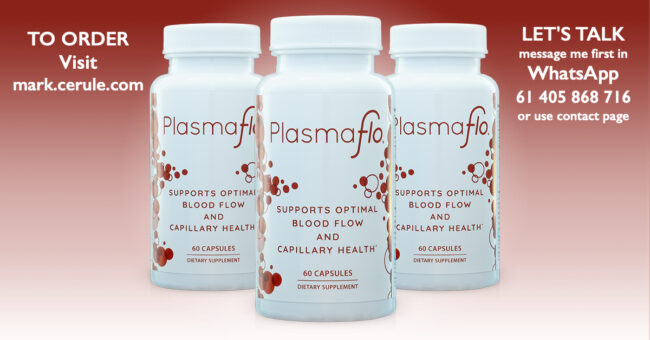 PlasmaFlo® supports optimal blood flow and capillary health