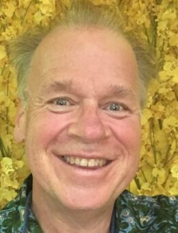 Mark Andersen with Golden Background