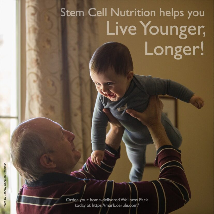 Stem Cell nutrition helps you live younger longer